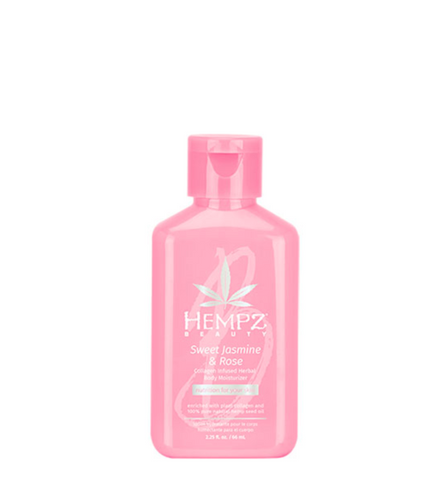 Hempz Sweet Jasmine & Rose Collagen Infused Herbal Body Moisturizer 2 oz