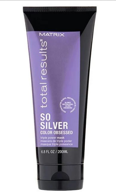 Matrix Total Results So Silver Triple Power Purple Toning Mask