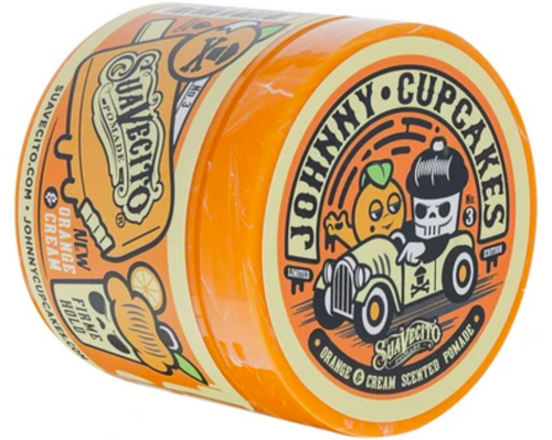 Suavecito X Johnny Cupcakes Orange & Cream Firme Hold Pomade
