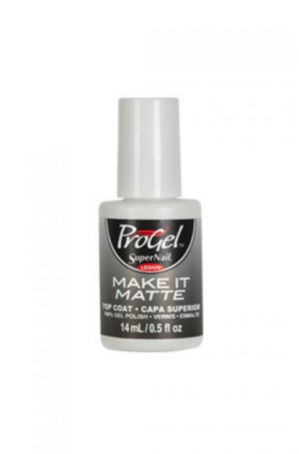 SuperNail ProGel Make It Matte Top Coat
