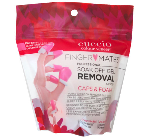Cuccio Finger Mates Soak Off Gel Polish Removal System