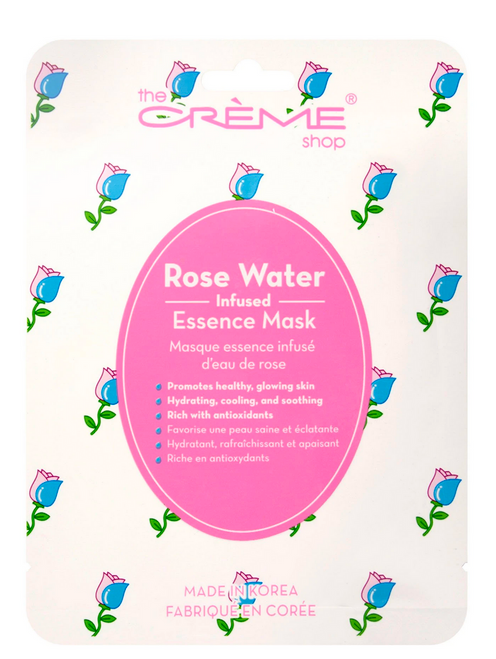 The Crème Shop Rose Water Infused Facial Sheet Mask
