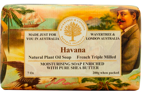 Wavertree & London Havana French Milled Australian Natural Soap
