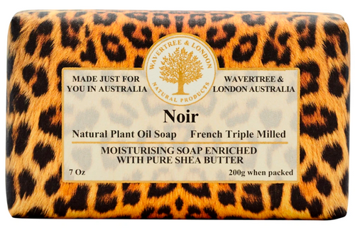 Wavertree & London Noir French Milled Australian Natural Soap