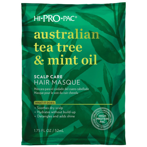 Hi Pro Pac Australian Tea Tree & Mint Oil Scalp & Hair Mask