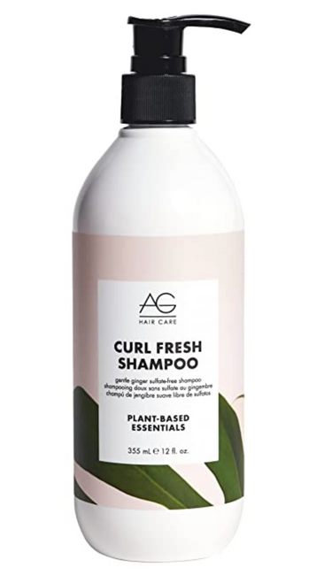 AG Curl Fresh Gentle Ginger Sulfate Free Shampoo