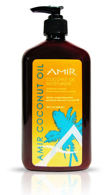 Amir Coconut Oil Moisturizer Lotion