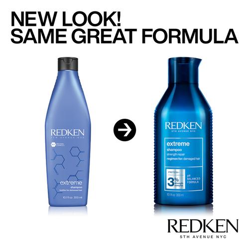 Redken Extreme Shampoo packaging change