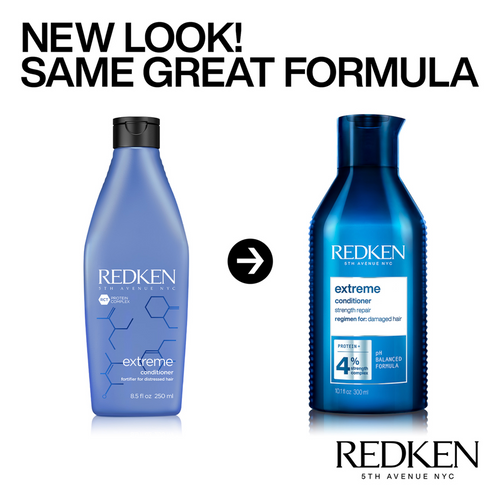 Redken Extreme Conditioner packaging change