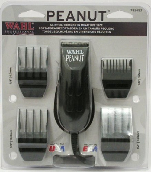 Wahl Peanut Trimmer in Black