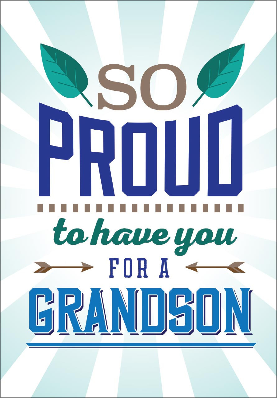 For Grandson Birthday Card