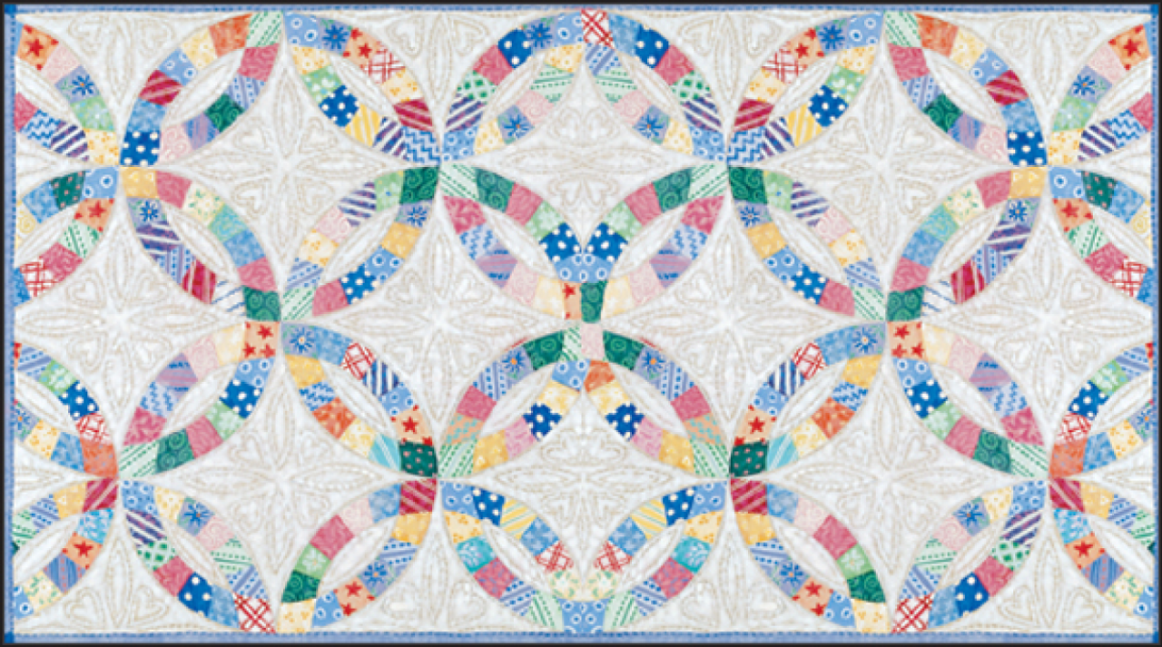 Double Wedding Ring Quilt.P Double Wedding Rings Quilt Planner Rpp157