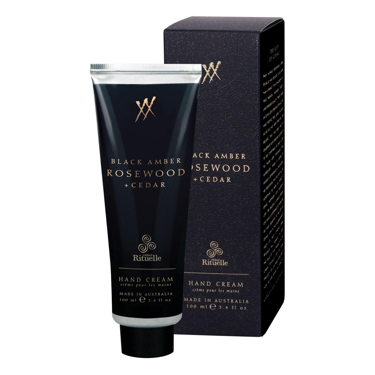 Alchemy - Black Amber, Rosewood & Cedar - Hand Cream - Urban Rituelle