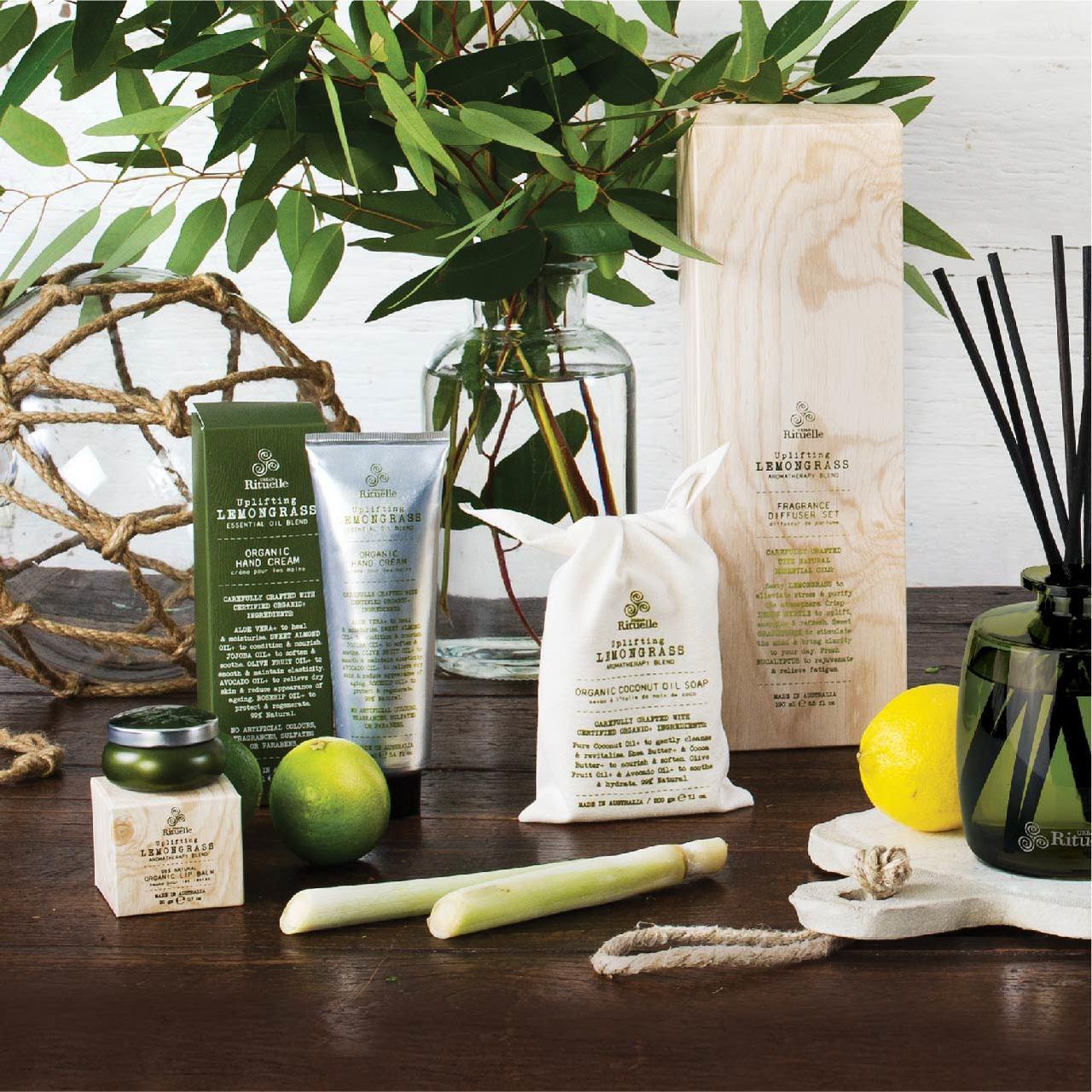 Flourish Organics - Organic Hand Cream - Lemongrass - Urban Rituelle
