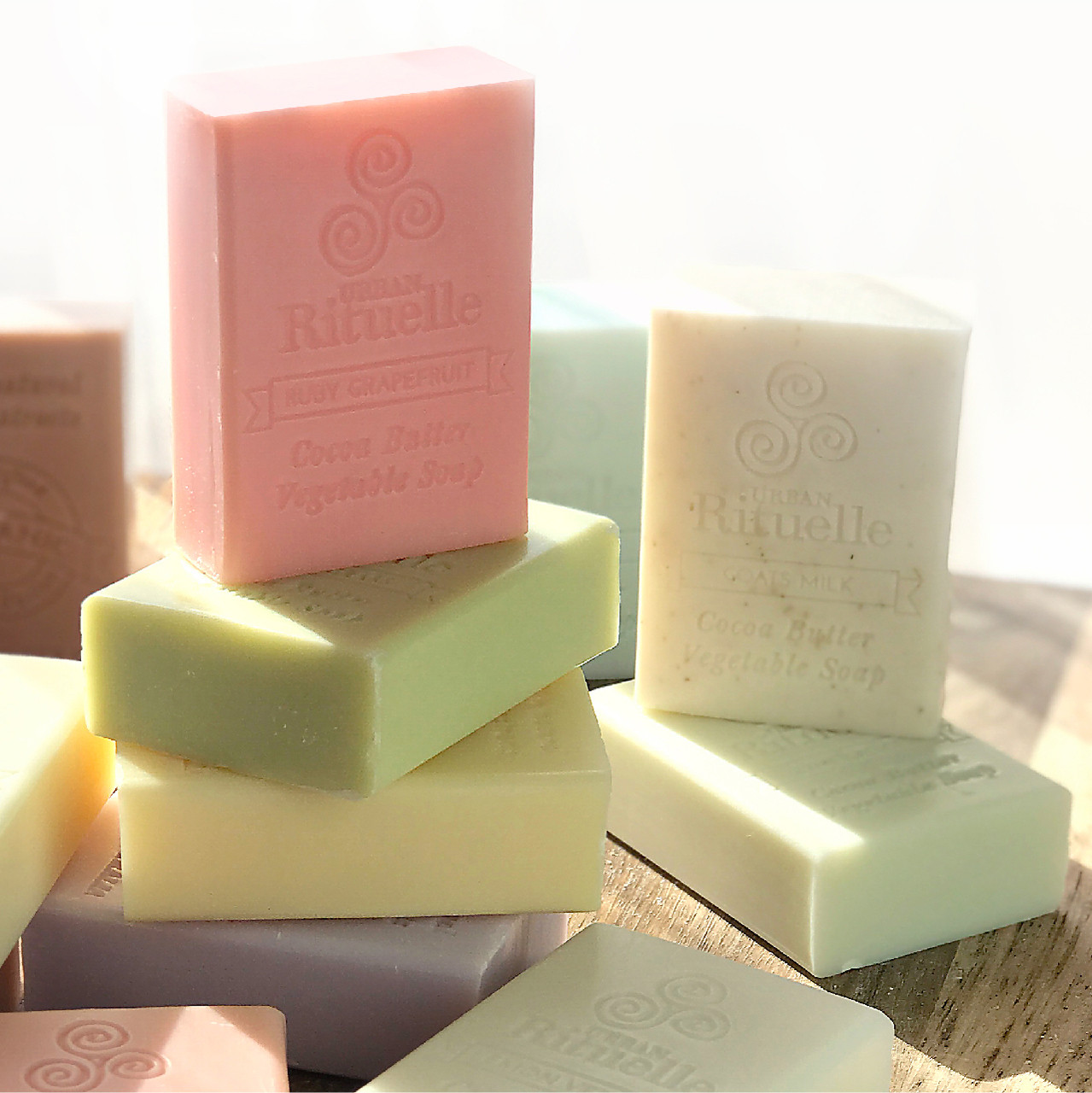Organic Cocoa Butter Vegetable Soap - Urban Rituelle