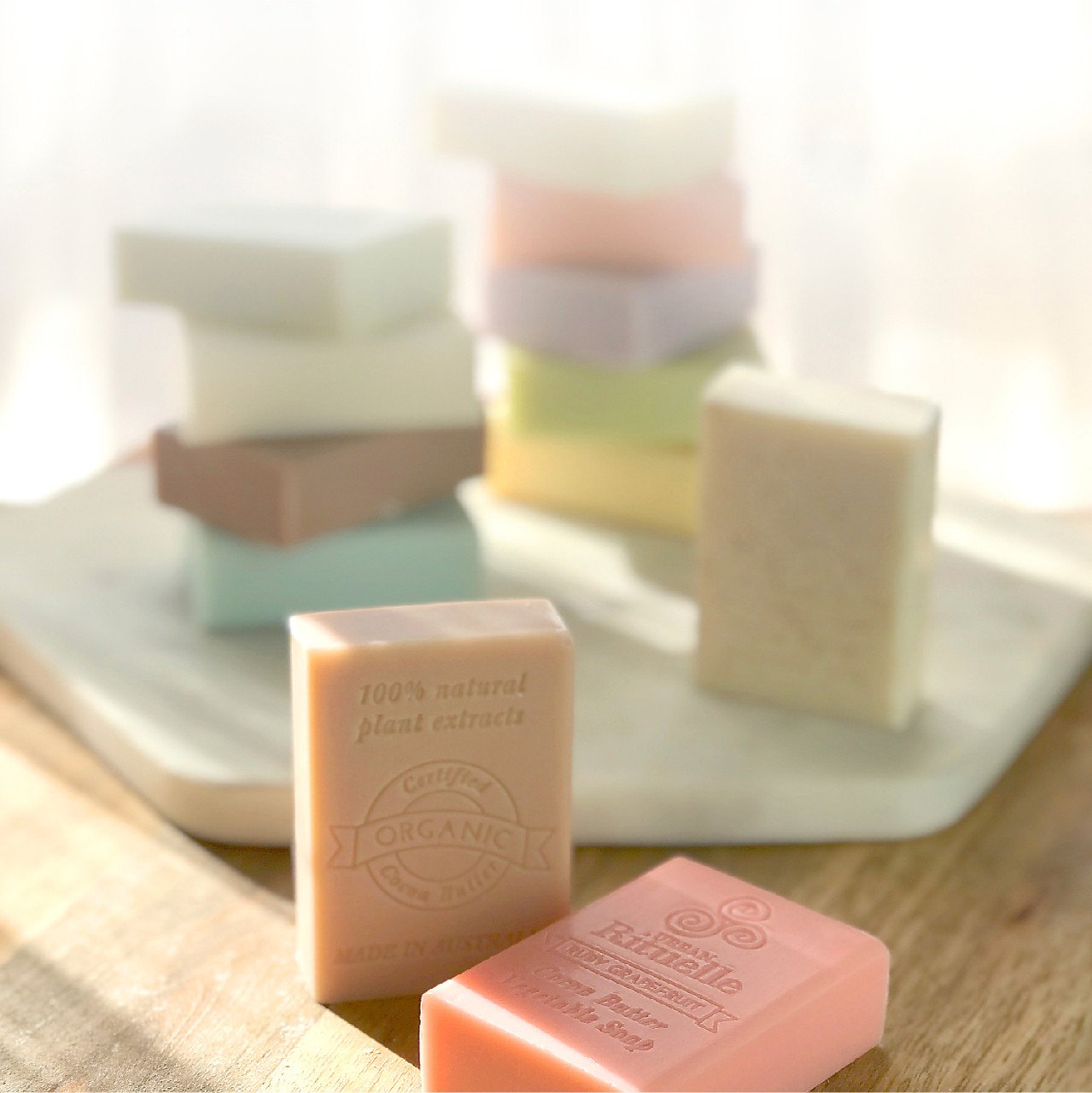 Organic Cocoa Butter Vegetable Soap - Urban Rituelle