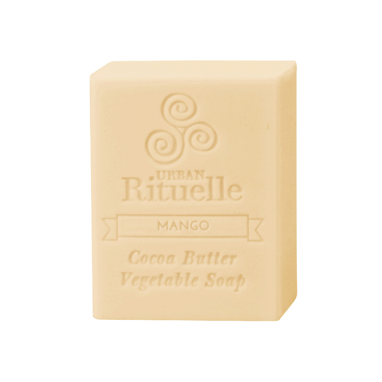 Organic Cocoa Butter Vegetable Soap - Mango - Urban Rituelle