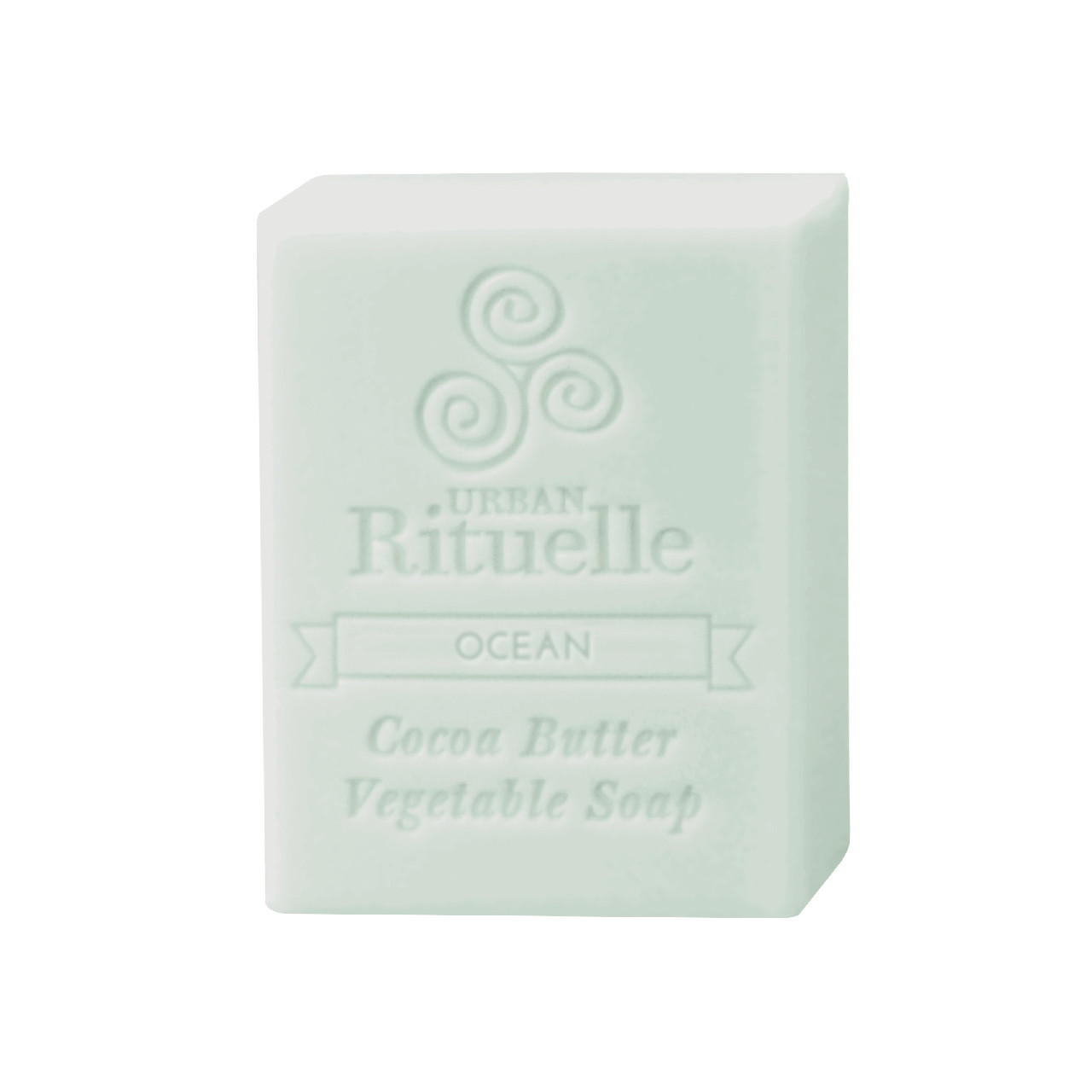 Organic Cocoa Butter Vegetable Soap - Ocean - Urban Rituelle