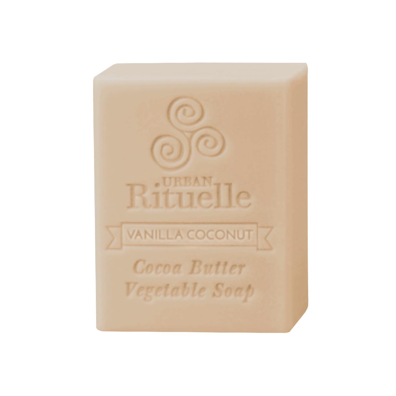 Organic Cocoa Butter Vegetable Soap - Vanilla Coconut - Urban Rituelle