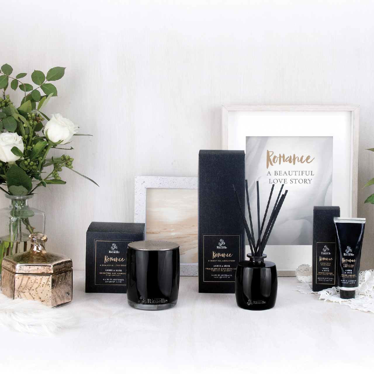 Scented Offerings - Romance - Amber & Musk - Urban Rituelle