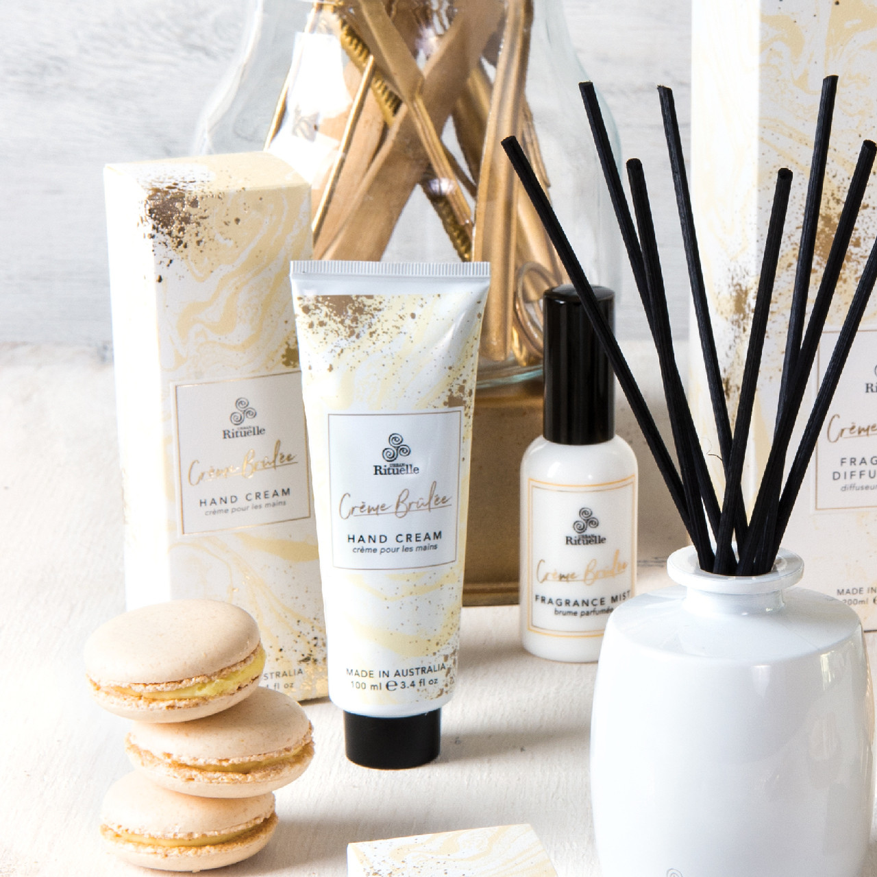 Sweet Treats - Creme Brulee -  Hand Cream - Urban Rituelle
