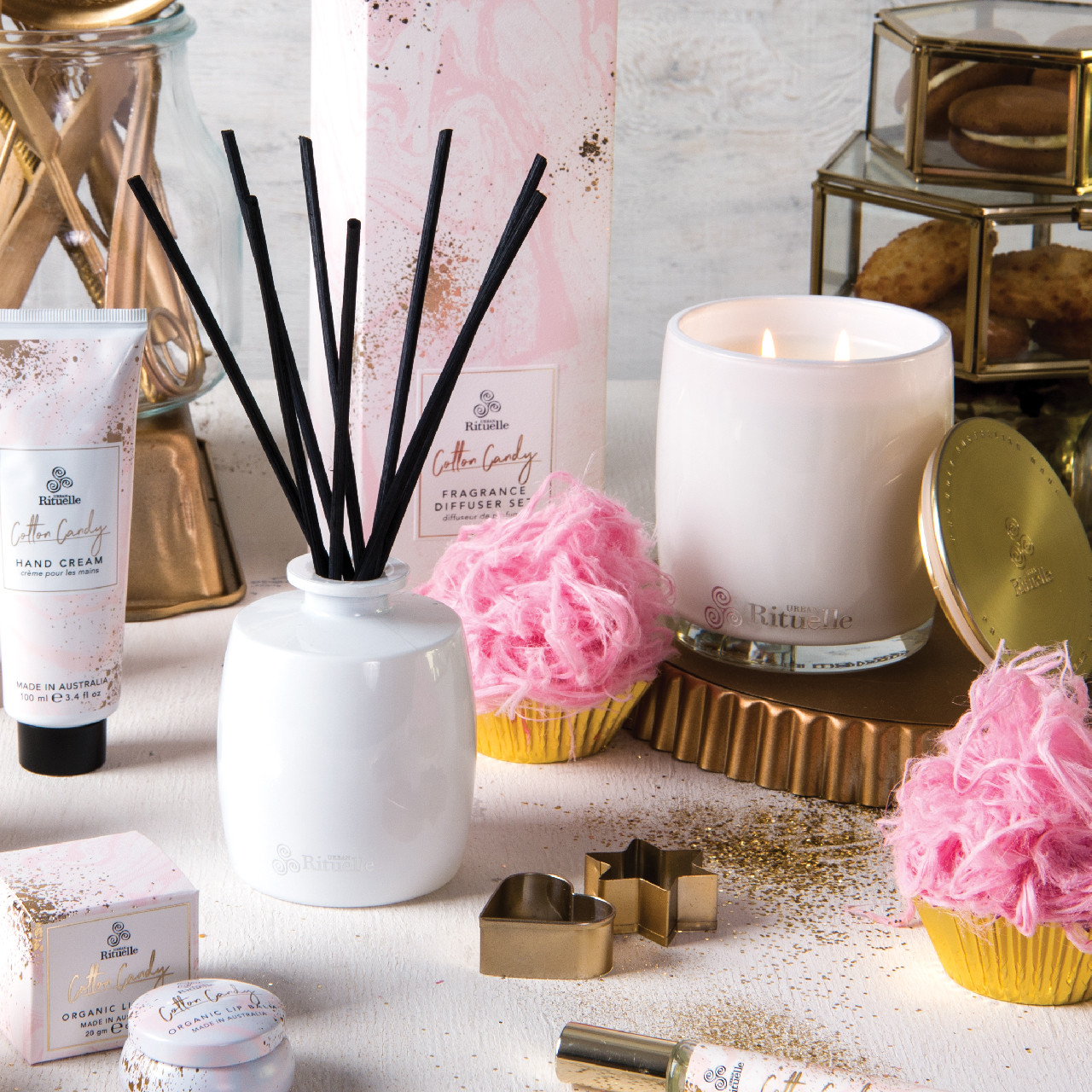 Sweet Treats - Cotton Candy - Fragrance Diffuser Set - Urban Rituelle