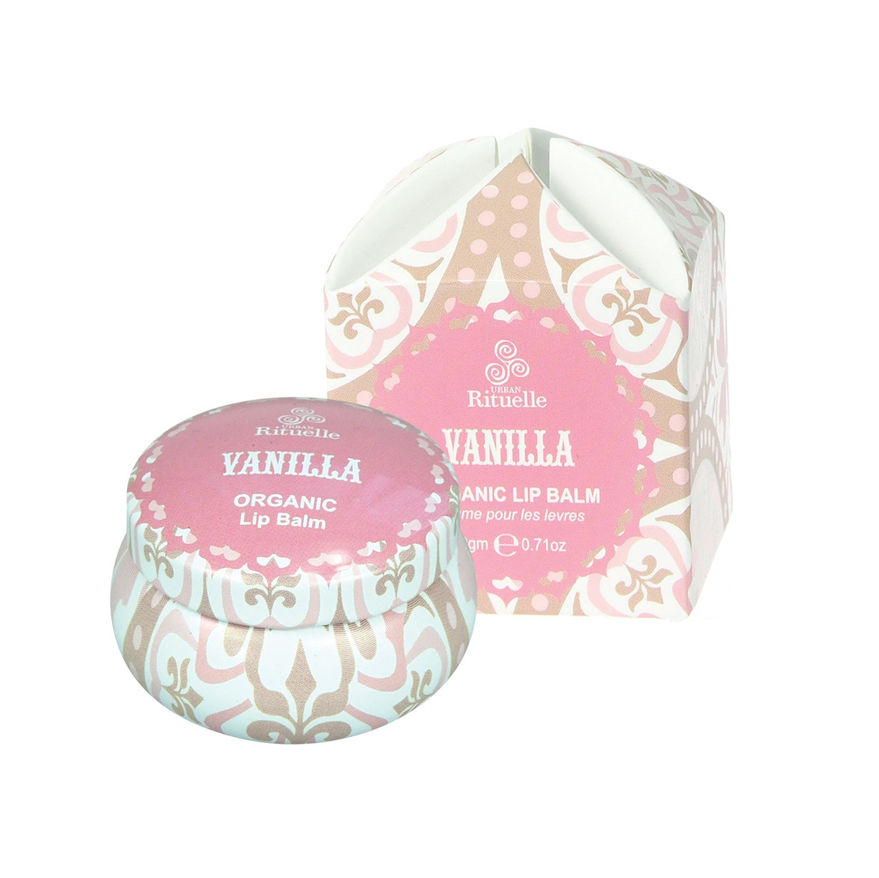 Vanilla Organic Lip Balm - Sweet Treats - Urban Rituelle