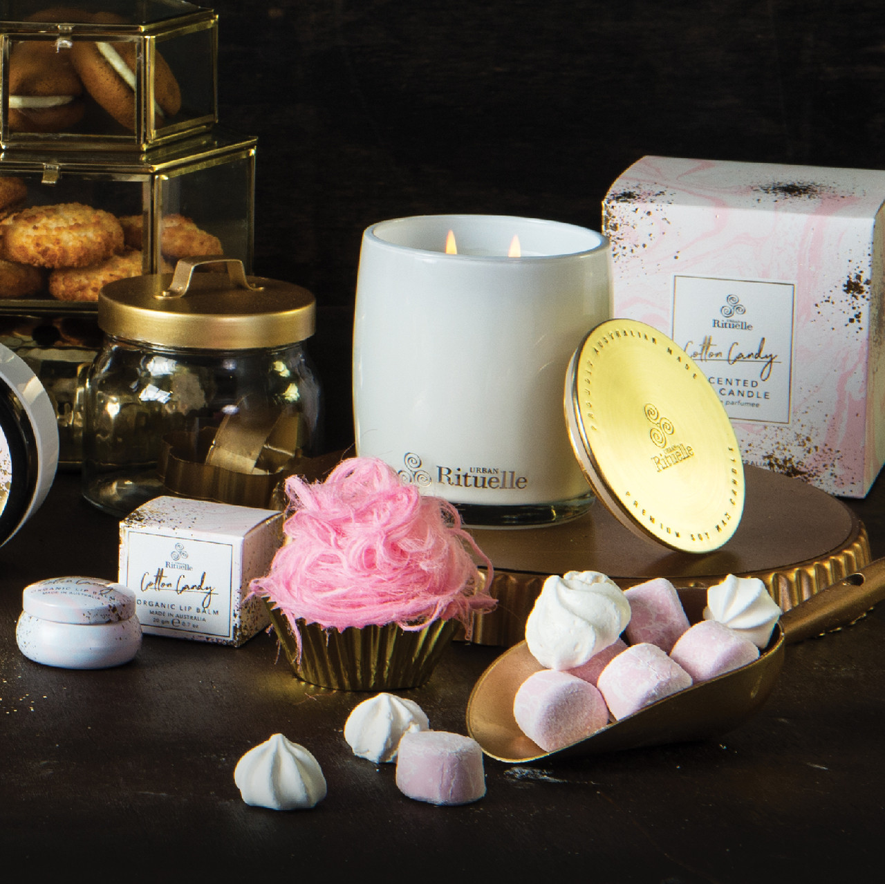 Sweet Treats - Cotton Candy - Scented Soy Candle - Urban Rituelle