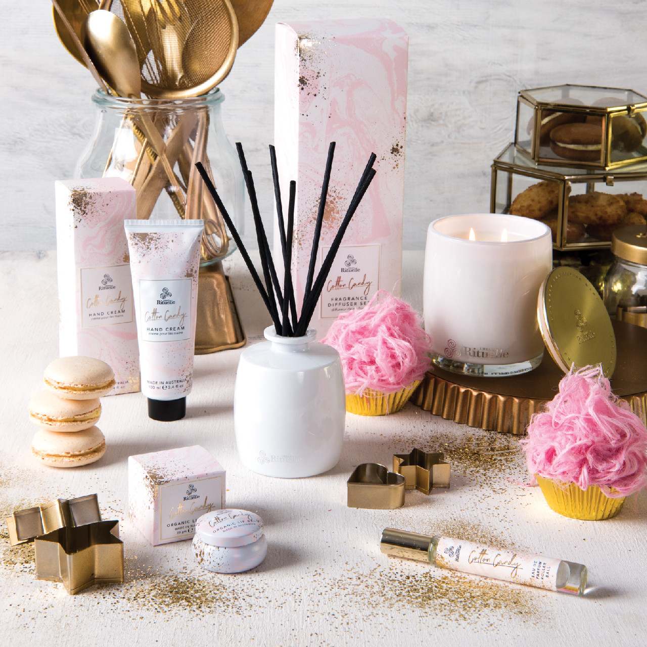 Sweet Treats - Cotton Candy - Sweet Delights Gift Set - Urban Rituelle