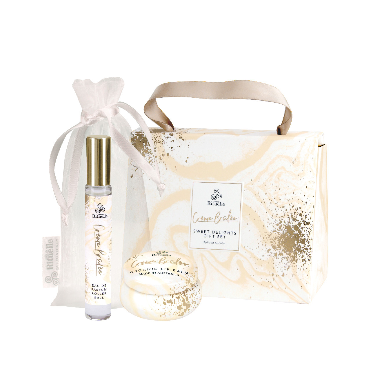 Sweet Treats - Creme Brulee - Sweet Delights Gift Set - Urban Rituelle