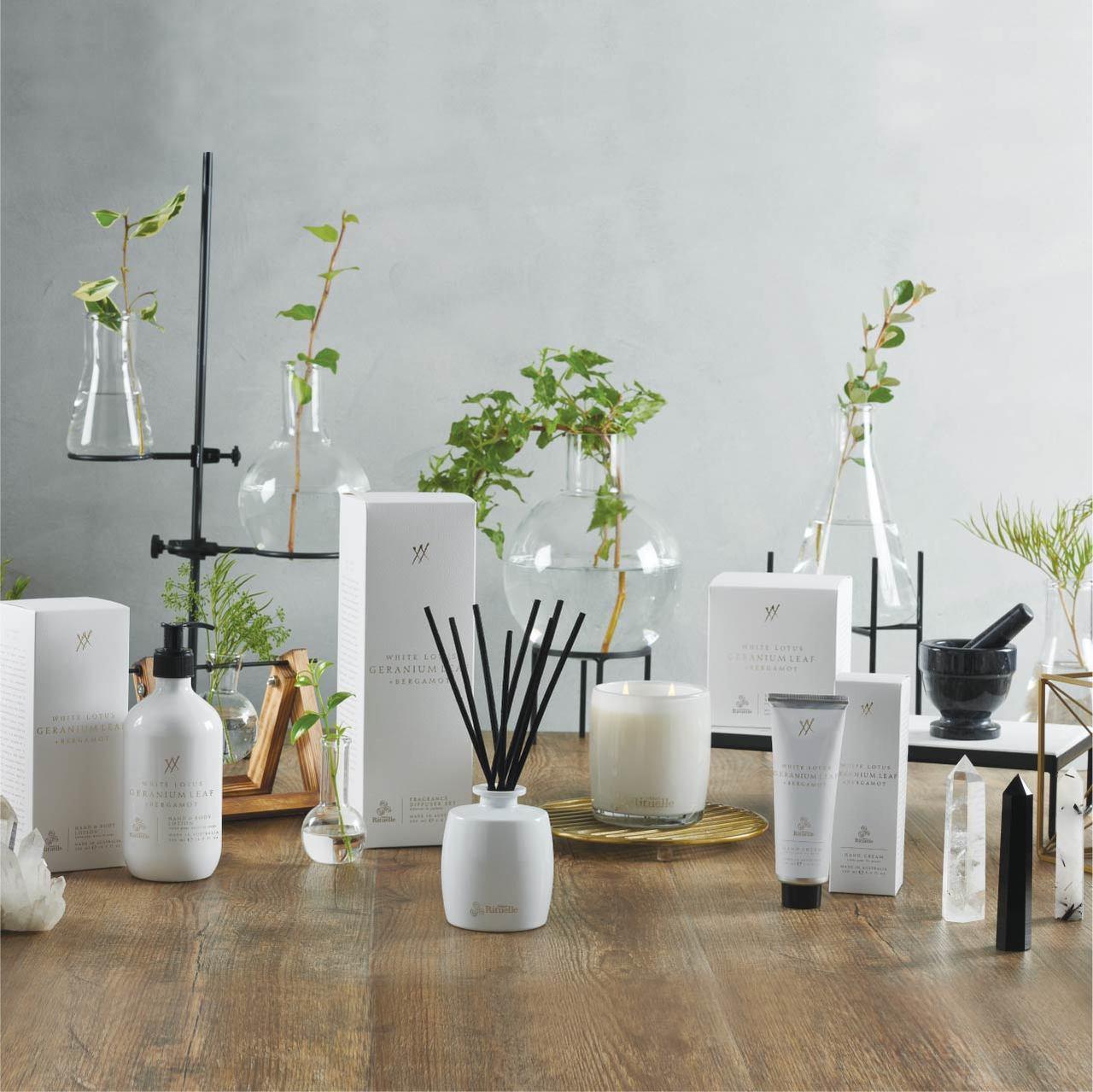 Alchemy - White Lotus, Geranium Leaf & Bergamot - Urban Rituelle