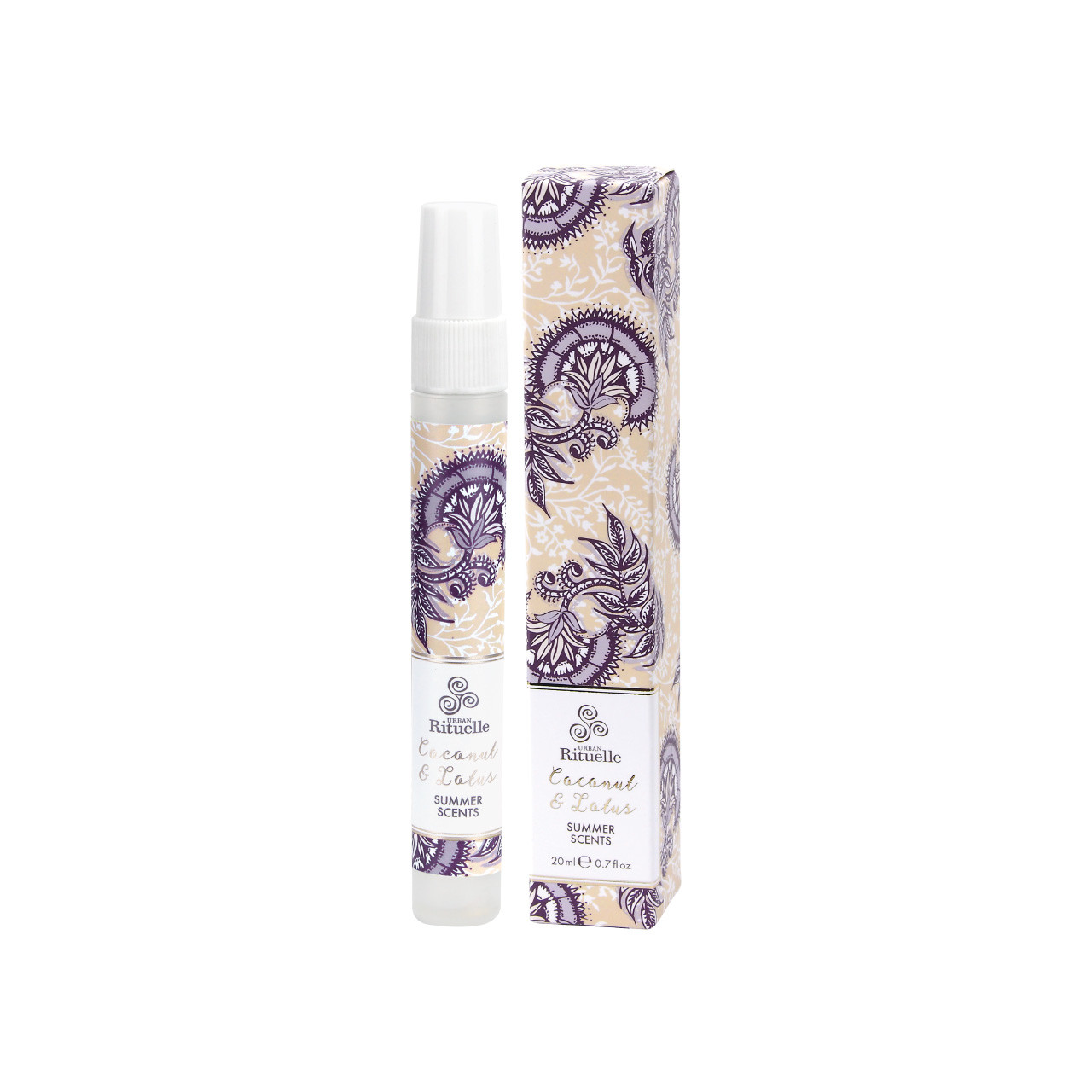 Summer Scents - Coconut & Lotus Perfume - Urban Rituelle