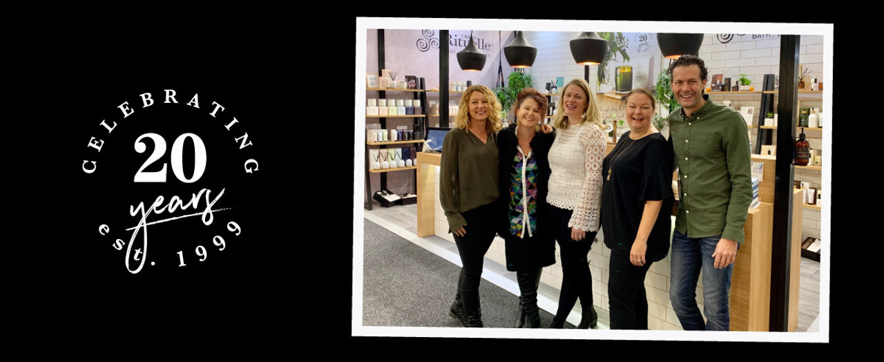 Continuing our 20th Birthday Celebrations at Melbourne Reed Gift Fair