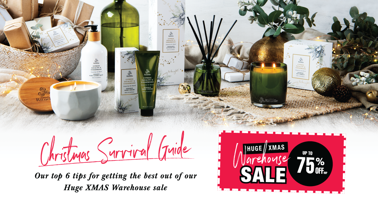 Our Christmas Warehouse Sale Survival Guide · Bag Up to 75% Off!!