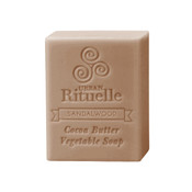 Organic Cocoa Butter Vegetable Soap - Sandalwood - Urban Rituelle