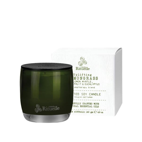 Flourish Organics - Lemongrass, Lemon Myrtle, Eucalyptus & Grapefruit - Scented Soy Candle - Urban Rituelle