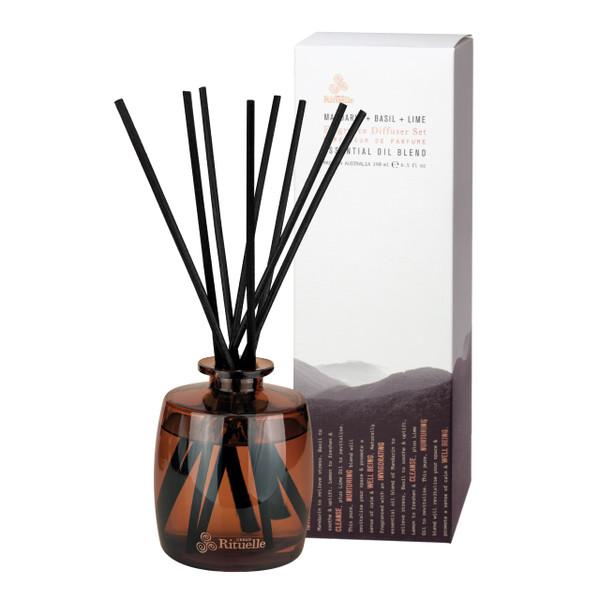 Equilibrium - Fragrance Diffuser Set - Mandarin, Basil & Lime - Urban Rituelle