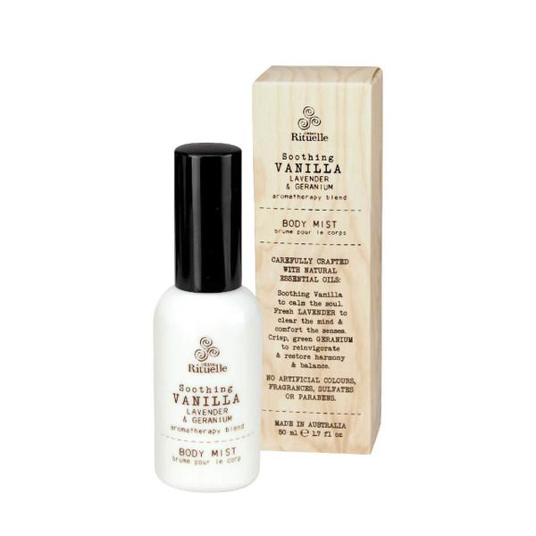 Flourish Organics - Body Mist - Vanilla  - Urban Rituelle