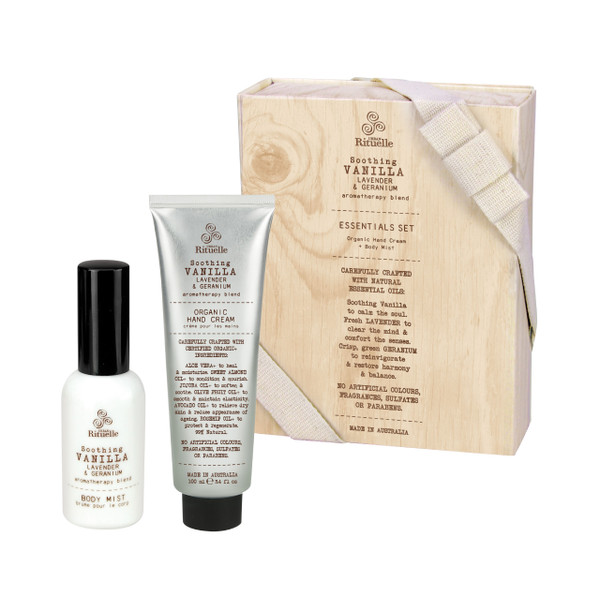 Flourish Organics - Essentials Set - Vanilla - Urban Rituelle
