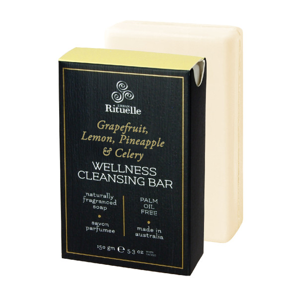 Harvest - Grapefruit - Wellness Cleansing Bar - Urban Rituelle