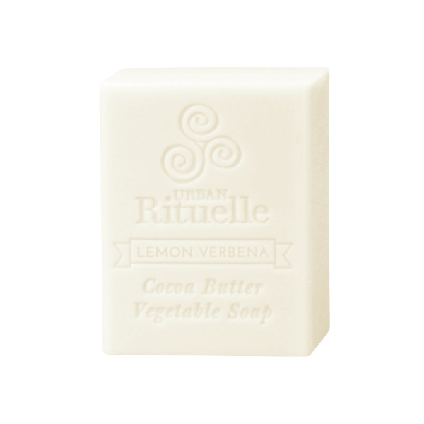 Organic Cocoa Butter Vegetable Soap - Lemon Verbena - Urban Rituelle