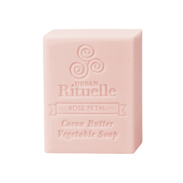 Organic Cocoa Butter Vegetable Soap - Rose Petal - Urban Rituelle
