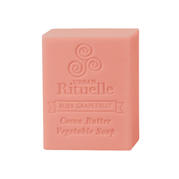 Organic Cocoa Butter Vegetable Soap - Ruby Grapefruit - Urban Rituelle