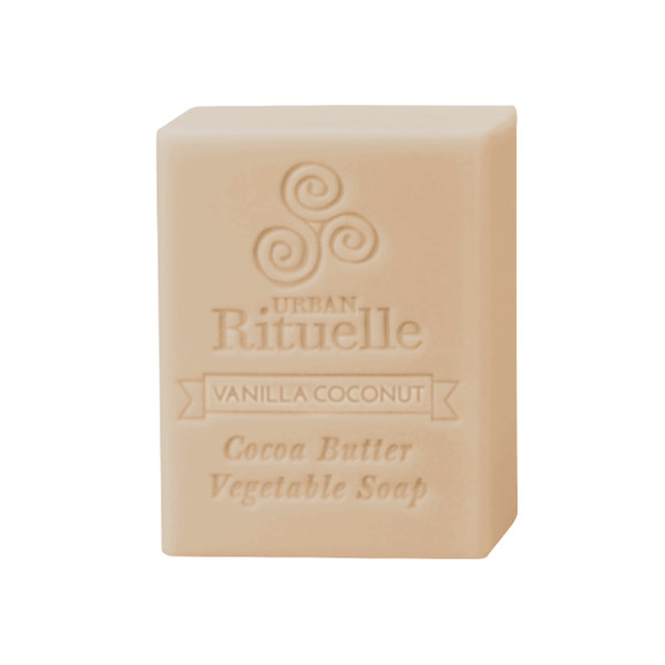 Organic Cocoa Butter Vegetable Soap - Vanilla Coconut - Urban Rituelle