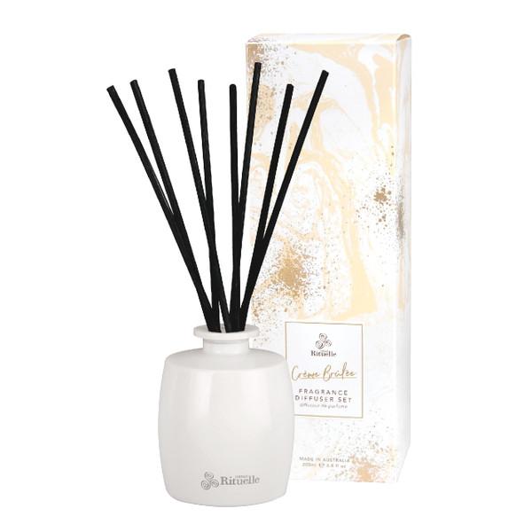 Sweet Treats - Creme Brulee - Fragrance Diffuser Set - Urban Rituelle