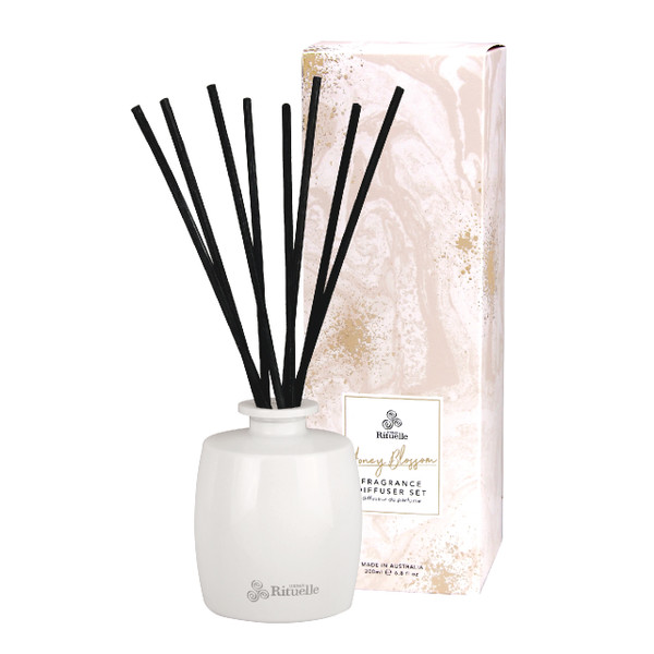 Sweet Treats - Honey Blossom - Fragrance Diffuser Set -  Urban Rituelle