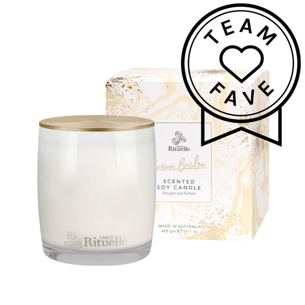 Sweet Treats - Creme Brulee - Scented Soy Candle - Urban Rituelle