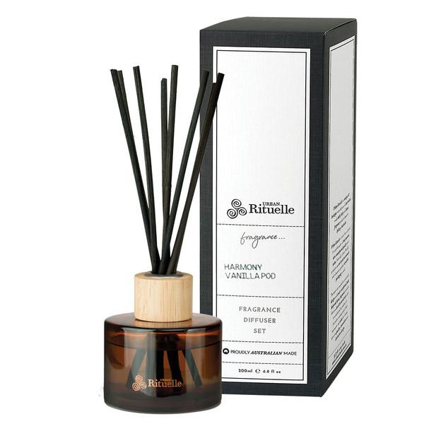 Harmony - Vanilla Pod - Fragrance Diffuser Set  - Scented Offerings - Urban Rituelle