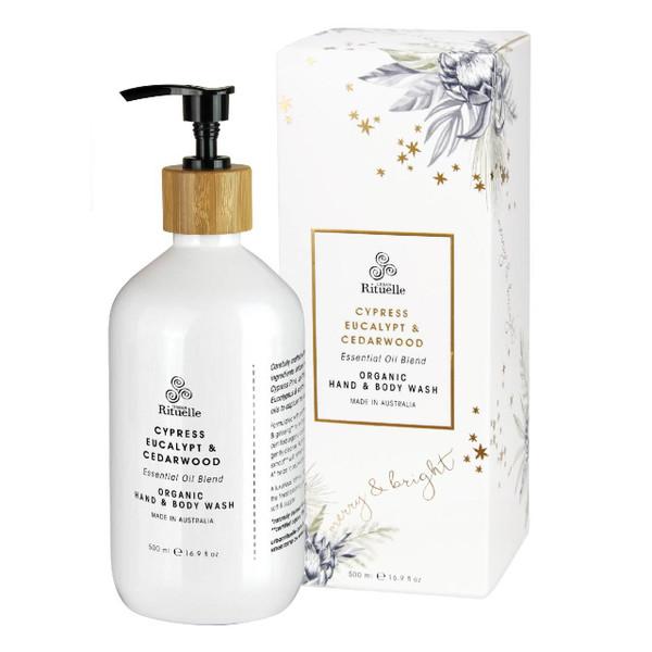 Festive Botanica - Cypress, Eucalypt & Cedarwood - Organic Hand & Body Wash - Urban Rituelle