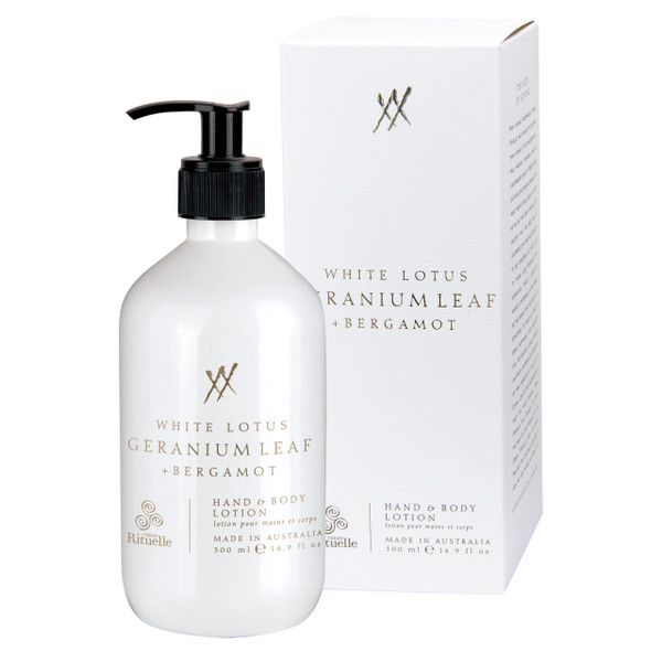 Alchemy - White Lotus, Geranium Leaf & Bergamot - Hand & Body Lotion - Urban Rituelle
